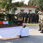 Army pays tribute to Lance Naik Sam Abraham