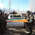 Final Honour to Brigadier Manuhar sharma