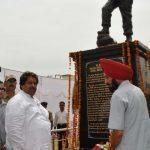 Major Ajay Singh Jasrotia memorial in Jammu