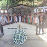 BJYU celebrating Kargil Divas at Captain Kenguruse's memorial