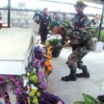 Capt Kenguruse being brought home after achieving martyrdom
