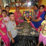 Family members of Major Sudhir Kumar