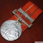 Medal awarded to Capt Vinayak Gore