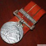 Medal awarded to Capt Vinayak Gore