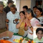 Family members pay tributes to Lt Col Manish Shashikant Kadam