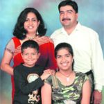 Colonel Jojan Thomas with his family