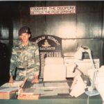 Capt Vinayak Gore in his office
