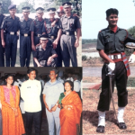 Capt Vinayak Gore on his passing out day