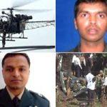 Major Atul Garje & Major Bhanu Chander and their ill fated chopper
