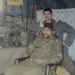 Lance Naik Prahald Singh Pachahara with his other comrade