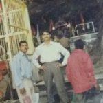 Lance Naik Prahald Singh with his friends