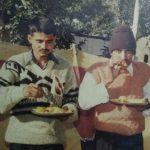 Lance Naik Prahald Singh Pachahara with his comrade