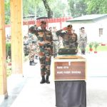 Army's last salute to its brave soldier Rifleman Rabin Sharma