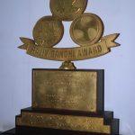 Rajiv Gandhi award given to Major Raman Dada