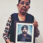 Sub Joginder Singh;s youngest daughter