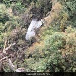 Flt Lt Achudev's Sukhoi-30 crash wreckage