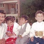 Capt Atul Sharma with his family