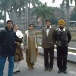 Capt Sharma with his friends